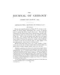 The Journal of Geology : 1904 Feb Mar No... Volume Vol.20 by Wright,charles