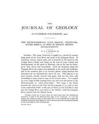 The Journal of Geology : 1907 Nov Dec No... Volume Vol.9 by Rowley,david