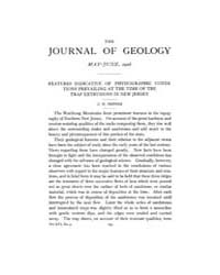 The Journal of Geology : 1908 May Jun No... Volume Vol.28 by Rowley,david