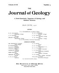 The Journal of Geology : 1910 May Jun No... Volume Vol.1 by Rowley,david