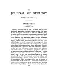 The Journal of Geology : 1911 Jul Aug No... Volume Vol.1 by Rowley,david