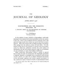 The Journal of Geology : 1918 Apr May No... Volume Vol.11 by Rowley,david