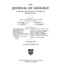 The Journal of Geology : 1922 Jan. Feb N... Volume Vol.16 by Rowley,david