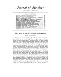The Journal of Mycology : 1903 May No. 2... Volume Vol.27 by