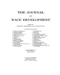 The Journal of Race Development : 1913 J... Volume Vol.4 by