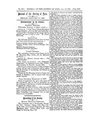 The Journal of the Society of Arts : 186... Volume Vol.14 by
