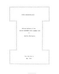 The Murrelet : 1922 May No. 2, Vol. 3 Volume Vol. 3 by