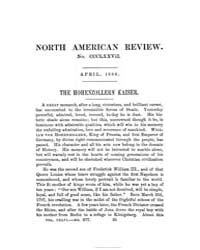 The North American Review : 1888 Apr. No... Volume Vol. 146 by
