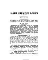 The North American Review : 1907 Jun. 7 ... Volume Vol. 185 by