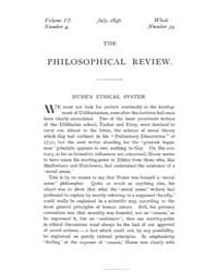 The Philosophical Review : 1897 : Jul No... by
