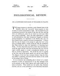 The Philosophical Review : 1921 : May No... by