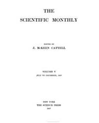 The Scientific Monthly ; Volume 5 : No 1... by