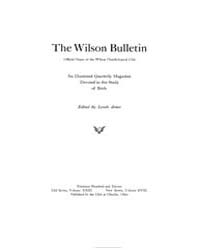 The Wilson Bulletin ; Volume 23 No 3 4 S... by