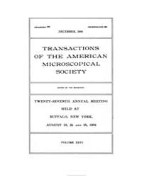 Transactions of the American Microscopic... by