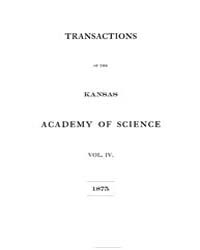 Transactions of the Kansas Academy of Sc... by Popenoe, E. A.