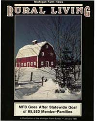 Rural Living : Volume 64, Number 1, 1985... by Michigan State University