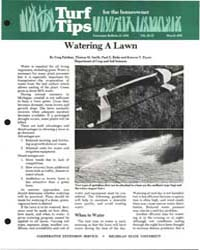 Watering a Lawn, Document E1488-1981-pri... by Greg Patchan