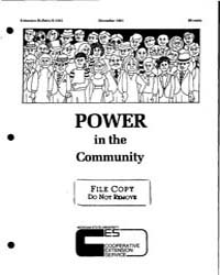 Power in the Community, Document E1551-1... by Manfred Thullen