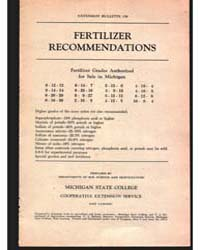 Fertilizer, Document E159Rev8 by Michigan State University