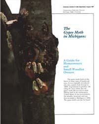 The Gypsy Moth in Michigan, Document E19... by Michigan State University