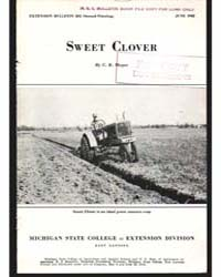Sweet Clover, Document E202Print2 by Megee, C. R.