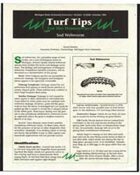 Turf Tips for the Homeowner Sod Webworm,... by David Smitley