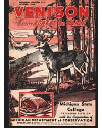 Venison from Forest to Table, Document E... by Michigan State University