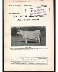 Cow Testing Associations Bull Associatio... by Baldwin, R. J.