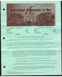 Nutritional Differences in Hay, Document... by D. Hillman