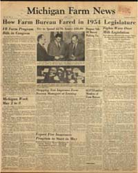 Michigan Farm News : Volume 32, Number 5 by Michigan State University