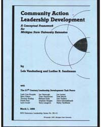 Community Action Leadership Development,... by Lela Vandenberg