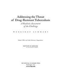 Addressing the Threat of Drug-resistant ... by Robert Giffin and Sally Robinson