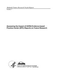 Assessing the Impact of Ahrq Evidence-ba... by Agency for Healthcare Research and Quality