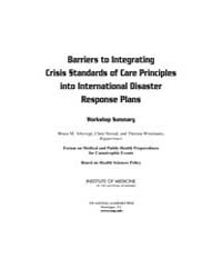 Barriers to Integrating Crisis Standards... by National Academies Press US