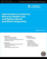 Interventions to Improve Minority Health... by M, O'Neil