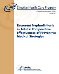 Recurrent Nephrolithiasis in Adults : Co... by National Academies Press US