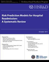 Risk Prediction Models for Hospital Read... by Department of Veterans Affairs (US)