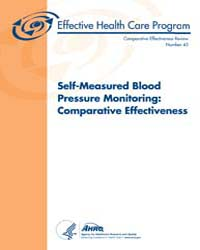 Self-measured Blood Pressure Monitoring:... by Agency for Healthcare Research and Quality
