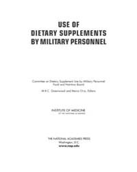 Use of Dietary Supplements by Military P... by Greenwood, Mrc