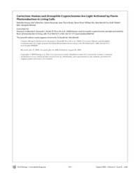 Plos Biology : Correction ; Human and Dr... by Hoang, Nathalie