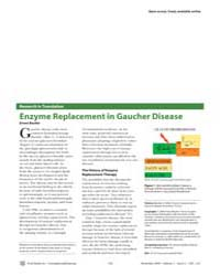 Plos Medicine : Enzyme Replacement in Ga... by Beutler, Ernest