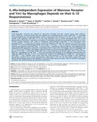 Plos Neglected Tropical Diseases : Il-4R... by MacDonald, Andrew, Scott