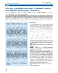 Plos Neglected Tropical Diseases : a Res... by Brooker, Simon