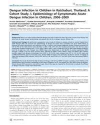 Plos Neglected Tropical Diseases : Dengu... by Halstead, Scott, B.