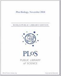 Plos : Biology, November 2004 by Bloom, Theodora