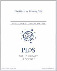 Plos : Genetics, February 2008 Volume 4 by Barsh, Gregory, S.
