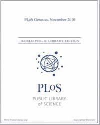 Plos : Genetics, November 2010 Volume 6 by Barsh, Gregory, S.
