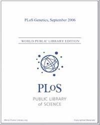 Plos : Genetics, Septemer 2006 Volume 2 by Barsh, Gregory, S.