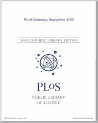 Plos : Genetics, Septemer 2008 Volume 4 by Barsh, Gregory, S.