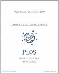 Plos : Genetics, Septemer 2009 Volume 5 by Barsh, Gregory, S.